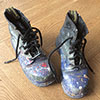 My Trusty Painting Boots