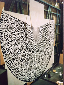Lady Windermeres Fan Floor detail